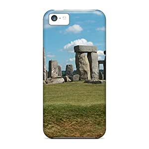 Mwaerke Iphone 5c Well-designed Hard Case Cover Stonehenge Protector