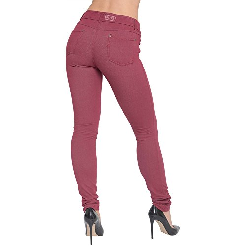 Trends Jeans Fashions Trends Fashions Donna Burgundy Oq48wSnA