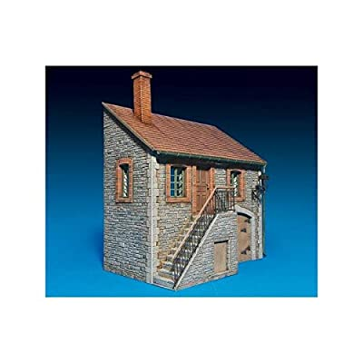 MiniArt 1:35 Scale Ardennes Building Plastic Model Kit: Toys & Games