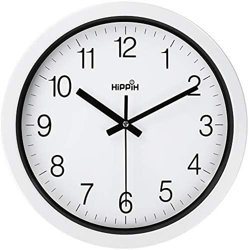 Coindivi Silent Wall Clock Non Ticking