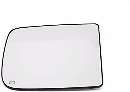 2500 10-14 Ram 1500 3500 4500 Left Driver Upper Tow Mirror Glass Heated w//Rear Backing Plate OE Mopar