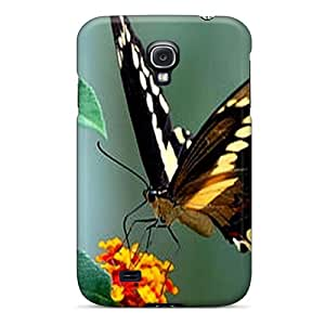 Samsung Galaxy S4 Thw5494VbnF Custom Trendy Butterfly Pictures Bumper Hard Cell-phone Case -AlissaDubois