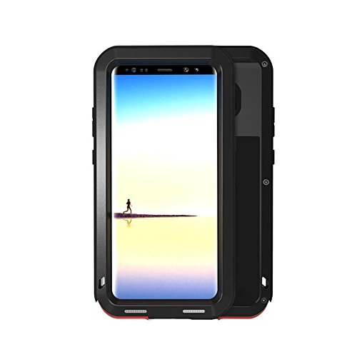 Galaxy Note 8 Case, Bpowe SM-Note 8 Armor Tank Aluminum Metal Shockproof Military Heavy Duty sturdy Protector Cover Hard Case for Samsung Galaxy Note 8
