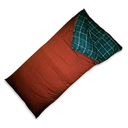 Amazon.com: World Famous doble capa Bolsa de dormir de fibra ...