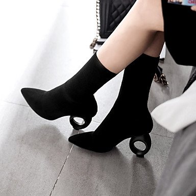 Black combattimento donna personalizzato Desy da stivaletti cono stivali stivali materiali a autunno party stivaletti per punta inverno tallone scarpe e da moda stivali EqEPwgrBIx