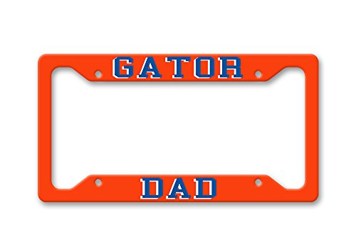The Turnip Seed Co Gator Dad - UF Colors - License Plate Frame LP1493 (Gator Dad License)
