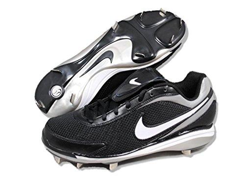 Abrazadera de b¨¦isbol Nike Air Zoom Coop V (8 D (M) EE. UU., Negro / blanco)