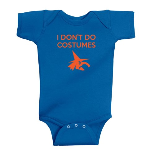 [Festive Threads Unisex Baby I Don't Do Costumes (Witch) Bodysuit (Royal Blue, 18 Months)] (Girls Festive Witch Costumes)