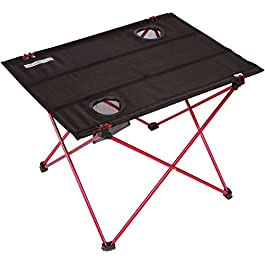 Trekology Foldable Camping Picnic Tables – Portable Compact Lightweight Folding Roll-up Table in a Bag – Small, Light…