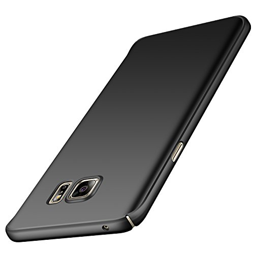 Anccer Samsung Galaxy Note 5 Case [Ultra-Thin] [Anti-Stain] [Anti-Drop] Premium Material Slim Full Protection Cover (Smooth Black)