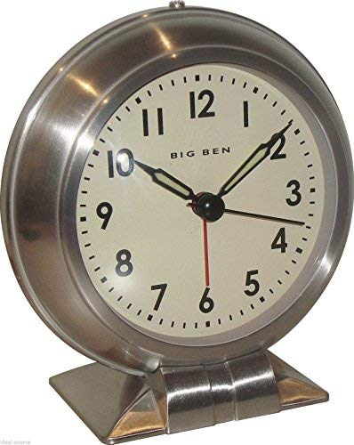 Westclox Big Ben Classic Metal Quartz Alarm Clock 90010 Vintage Antique - Vintage Big Westclox Ben