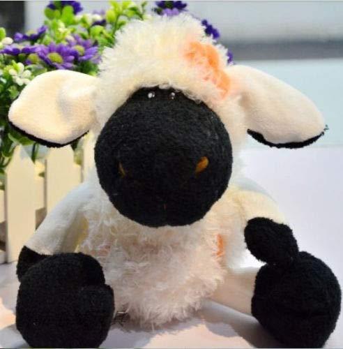 Lamb Doll Newborn - Super Cute Plush Toy NICI Colorful Sheep Flower Pocket Lamb Soft Stuffed Doll Birthday 25cm 1pc