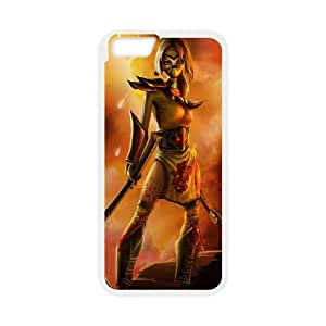 iPhone 6 4.7 Inch Cell Phone Case White League of Legends Stinger Akali QH1797081