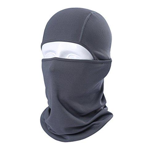 KOOYU Neck Warmer Dust Mask Soft Neck Gaiter Warmer Balaclava Ski Mask