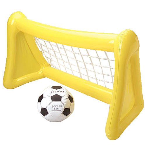 Official Costumes Inflatable Soccer Goal with Ball -