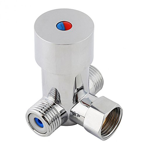 (Hot & Cold Water Mixing Valve Temperature Control Thermostatic Mixer for Automatic Sensor)