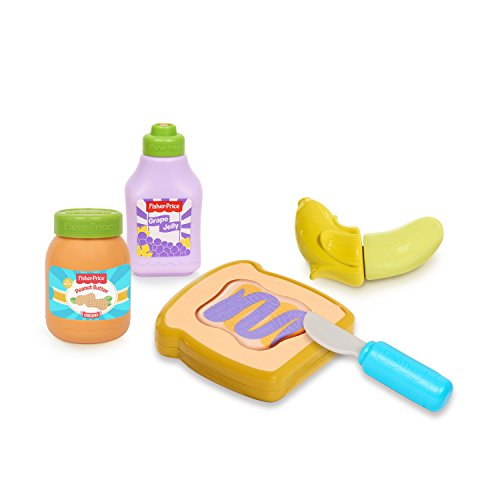 - Fisher-Price Peanut Butter Jelly Set, Multicolor