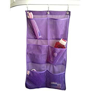 Amazon.com: Mesh Hanging Organizer and Bath Caddy with 6
