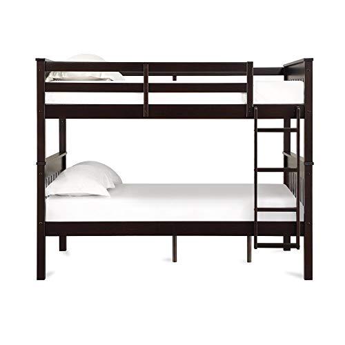 Dorel Living Moon Full Over Full Bunk Bed with USB Port, Espresso