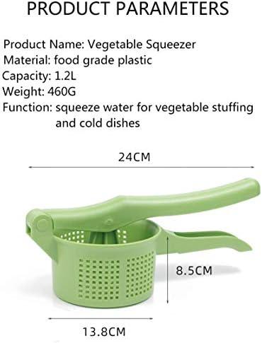 2PC Verdura Riempimento Utensile Da Cucina Estrusione Disidratatore Multifunzione Verdura Stampaggio A Mano Riempimento Di Verdure Miscela Di Plastica Strumento Di Disidratazione