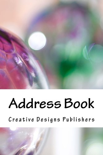 Address Book: Metallic Glass Contacts, Addresses, Phone Numbers, Emails & Birthday. Alphabetical Organizer Journal Notebook (Address Books) (Volume - Phone Usa Number Glasses