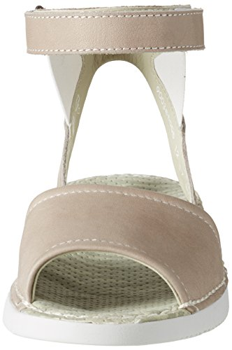 Cheville Taupe Tia385sof Bride Femme Softinos Sandales Beige qtR0Fw