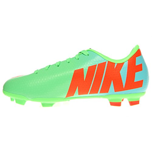Nike Blue Crimson Lime Silver Victory FG IV Cleat Neo JR Mercurial Soccer rvPqFr8Ra