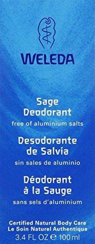 Weleda Sage Non-Aerosol Deodorant Spray-3.4 oz, 2 pk
