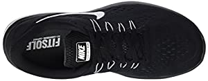 Nike Women's Flex 2017 Running Shoes-Black/White/Anthracite-8