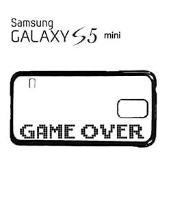 Game Over The End 8 Bit Mobile Cell Phone Case Samsung Galaxy S5 Mini Black