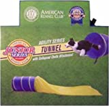 Dog Agility Training Tunnel with Collapsed Chute by AKC