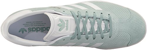 Green Gazelle Per Adidas white Sneaker Tactile Metallic gold Donna FqXOX