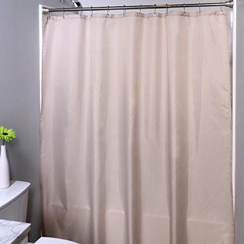 cloth shower curtain liner - 7