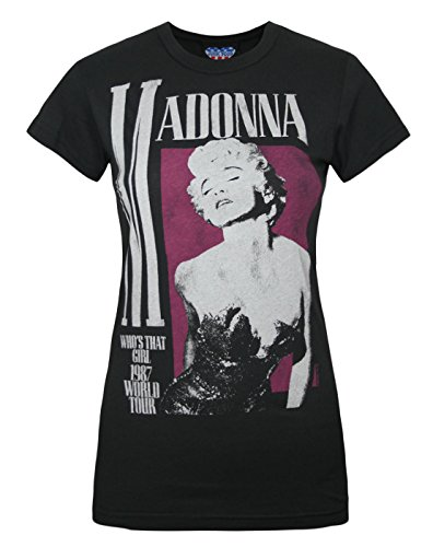 Madonna Who's That Girl' 1987 Women's T-Shirt. Small