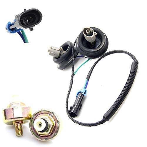 Dual Knock Sensors Wire Harness 12601822 10456603 Fits for Chevy Suburban Chevrolet Silverado Avalanche Tahoe GMC Sierra Yukon Hummer