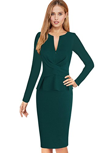 Ruched Sheath Dress - 8