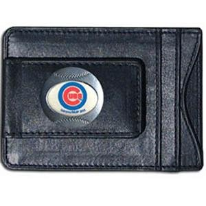 Chicago Cubs Leather Wallet Money product image