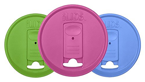 ILIDS Mason Wide Mouth Jar Drink Lid (3 Pack), Whimsy