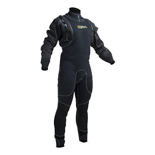 Gul Code Zero 4mm Hybrid Drysuit 2018 - Black M