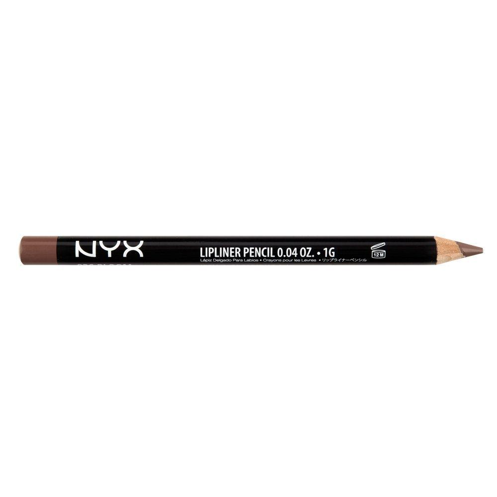 NYX Slim Lip Liner Pencil - Nude Truffle - SLP 855 NYX Cosmetics SPL855 - NUDE TRUFFLE