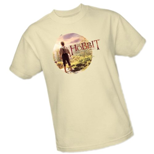 Circle -- The Hobbit: An Unexpected Journey Adult T-Shirt, XX-Large Frodo Baggins Lord Of The Rings