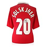 Ole Gunnar Solskjaer Signed 1999 Manchester United Champions League Soccer Jersey
