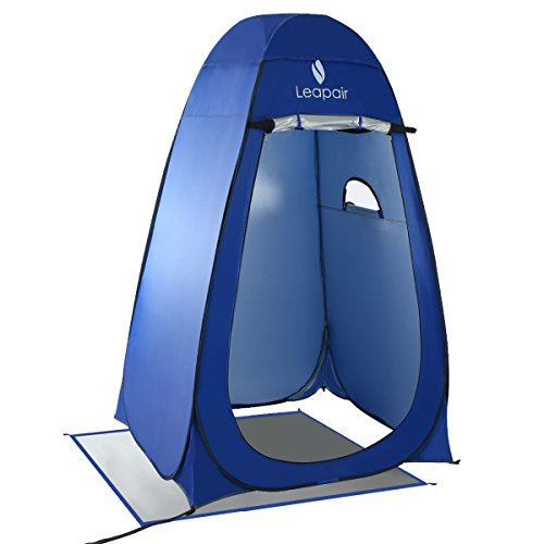 Leapair Dressing Tent Shower Privacy Portable Camping Beach Toilet Pop Up Tents (Cabana Tent)