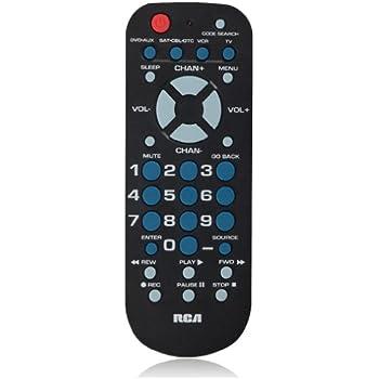 amazon com rca tv vcr remote control 240895 crk76ta1 no rh amazon com