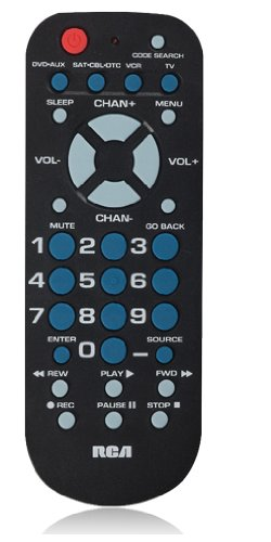 RCA Remote Control with 4 Functions
