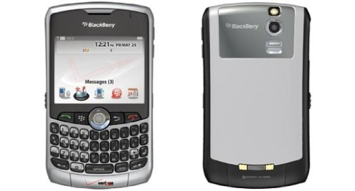 BlackBerry Curve 8330 Smartphone, Silver (Verizon Wireless)