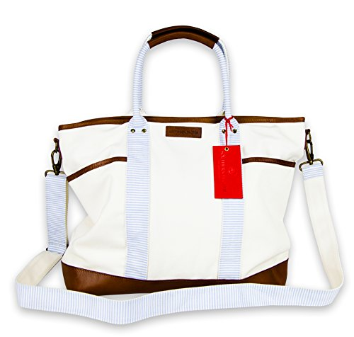 Souther Proper Canvas Bluffton Tote Bag by Southern Proper