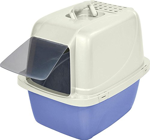 Van Ness CP6 Enclosed Cat Pan/Litter Box, Large, Colors may vary 41zBg7HdHWL