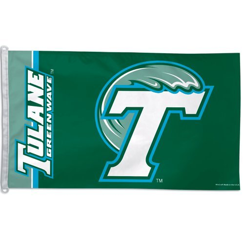 Wincraft Tulane Green Wave 3x5 Flag ()