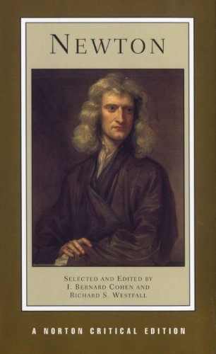 Newton (First Edition)  (Norton Critical Editions)